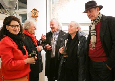 Albertine Flechsig, Rainer Flechsig, Günther Despang, Renate Despang, Erwin Meyer