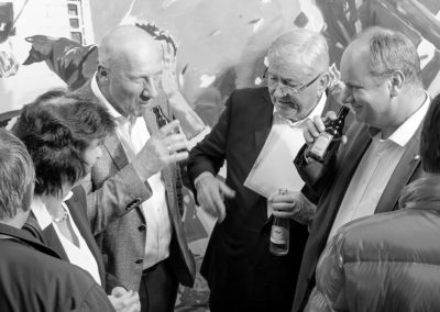 Dr. Eva-Maria Stange, Michael Wiedemann, Dr. Wolfgang Berghofer, Dirk Hilbert